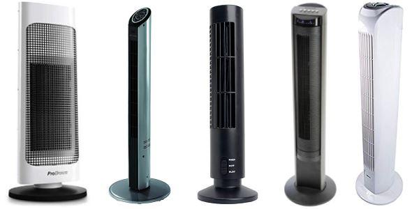 Choisir un ventilateur colonne