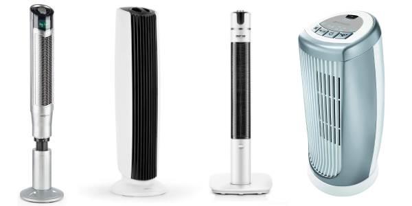 Ventilateur colonne ioniseur